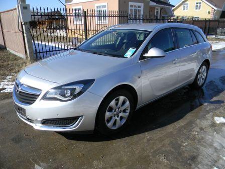Opel Insignia 2016 - отзыв владельца