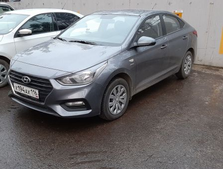 Hyundai Solaris 2019 - отзыв владельца