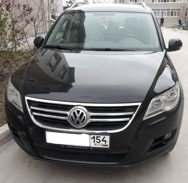 Volkswagen Tiguan 2008 отзыв автора | Дата публикации 24.04.2020.