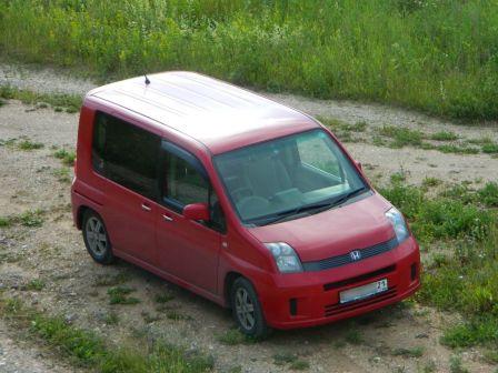 Honda Mobilio 2005 - отзыв владельца