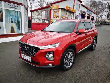 Hyundai Santa Fe 2019 отзыв автора | Дата публикации 26.04.2020.