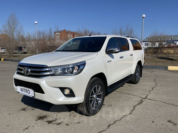 Toyota Hilux Pick Up, 2016 год, 2 040 000 руб.