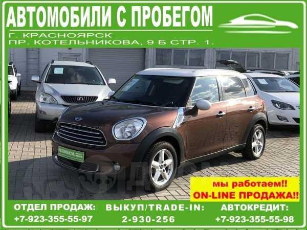 Mini Countryman, 2013 год, 775 000 руб.