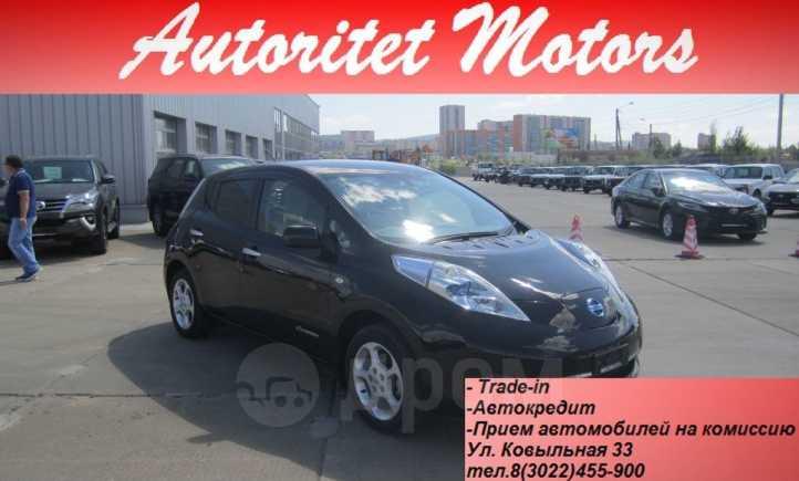 Nissan Leaf, 2011 год, 498 000 руб.