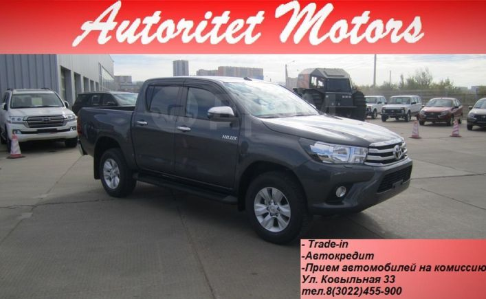 Toyota Hilux Pick Up, 2019 год, 2 729 000 руб.