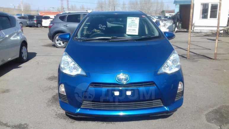 Toyota Aqua, 2014 год, 635 000 руб.
