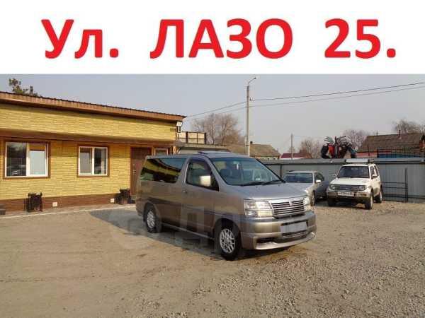 Nissan Elgrand, 1999 год, 360 000 руб.