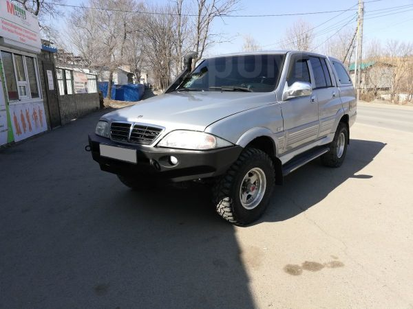 SsangYong Musso Sports, 2005 год, 400 000 руб.