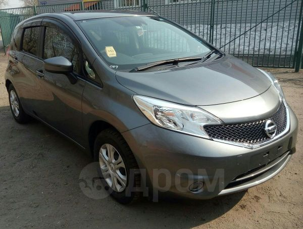 Nissan Note, 2016 год, 545 000 руб.