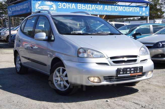 Chevrolet Rezzo, 2007 год, 317 000 руб.