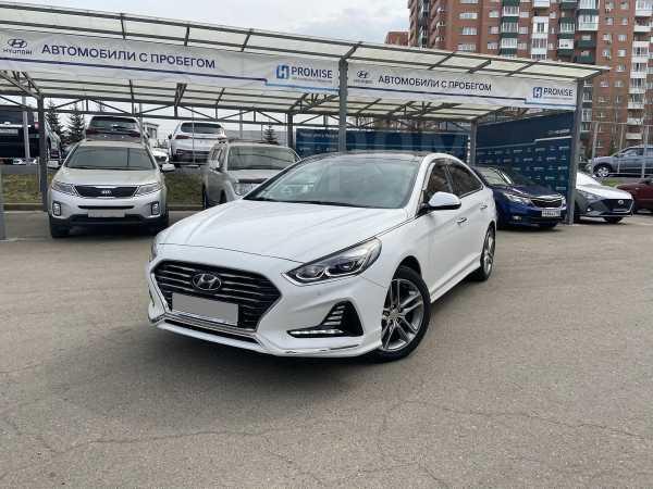 Hyundai Sonata, 2018 год, 1 598 000 руб.