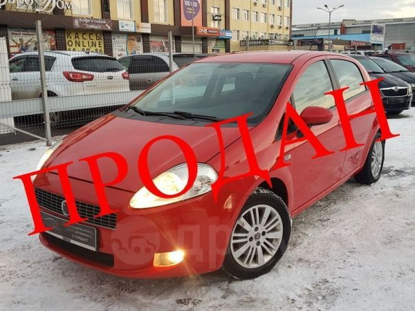 Fiat Grande Punto, 2007 год, 229 000 руб.