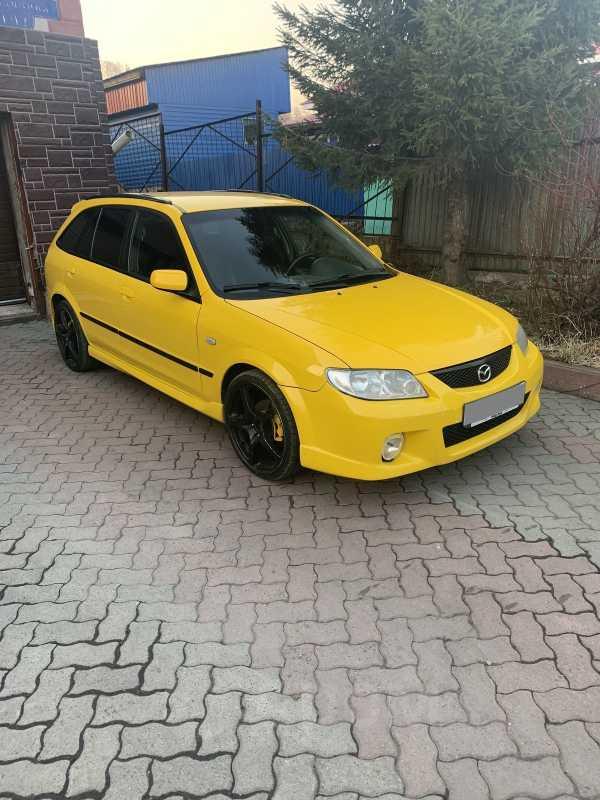 Mazda Protege, 2002 год, 215 000 руб.