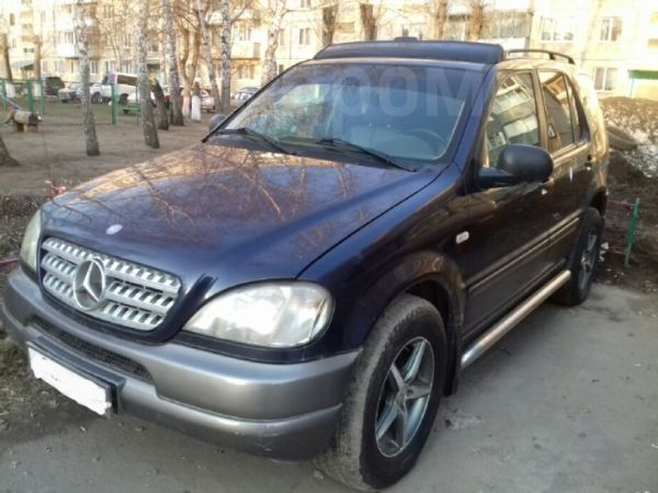 Mercedes-Benz M-Class, 1999 год, 290 000 руб.