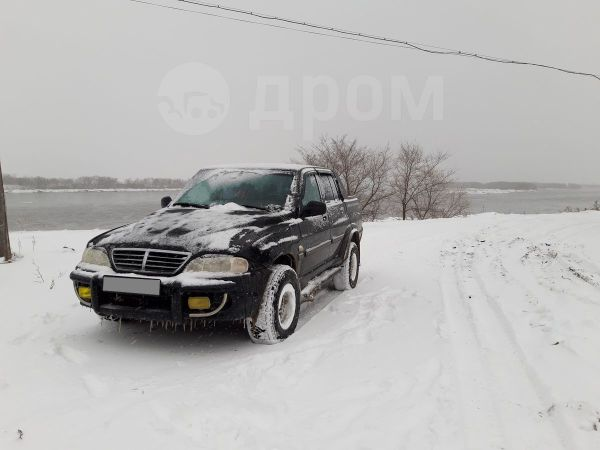 SsangYong Musso Sports, 2004 год, 300 000 руб.
