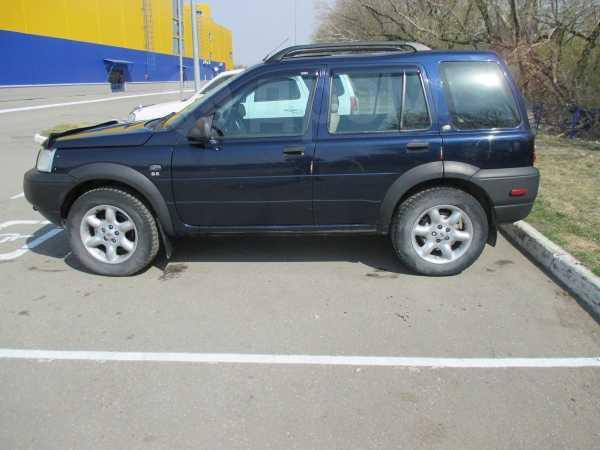 Land Rover Freelander, 2002 год, 354 000 руб.