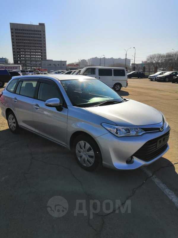 Toyota Corolla Fielder, 2016 год, 855 000 руб.