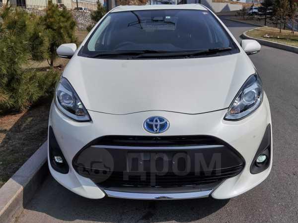 Toyota Aqua, 2019 год, 920 000 руб.