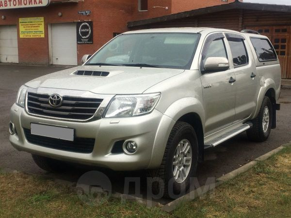 Toyota Hilux Pick Up, 2014 год, 1 147 000 руб.