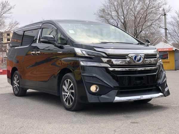 Toyota Vellfire, 2015 год, 1 999 000 руб.