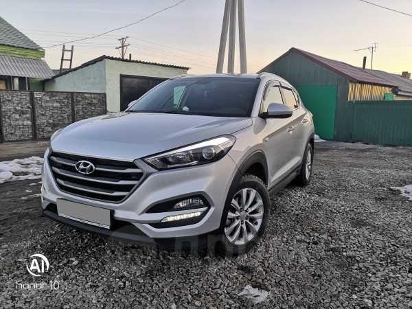 Hyundai Tucson, 2018 год, 1 610 000 руб.