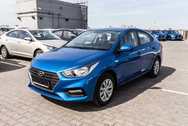 Hyundai Solaris, 2020 год, 895 000 руб.