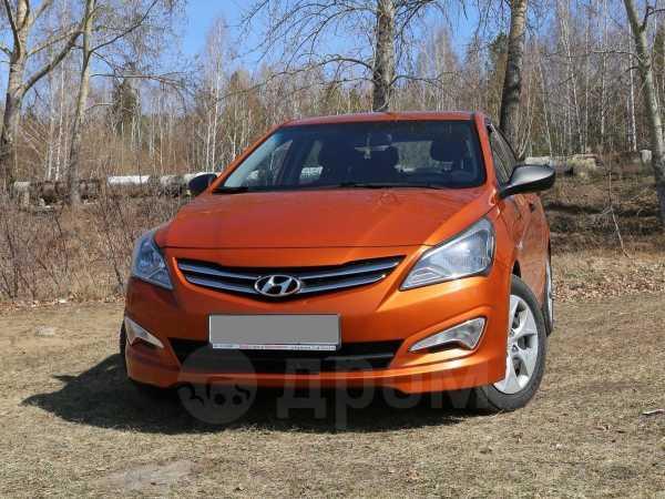 Hyundai Solaris, 2015 год, 614 000 руб.