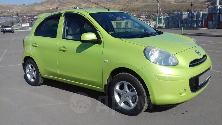 Nissan March, 2010 год, 399 000 руб.