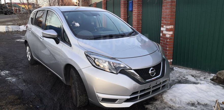 Nissan Note, 2017 год, 570 000 руб.