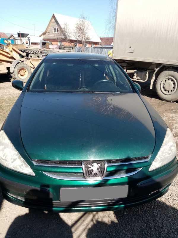 Peugeot 607, 2001 год, 185 000 руб.