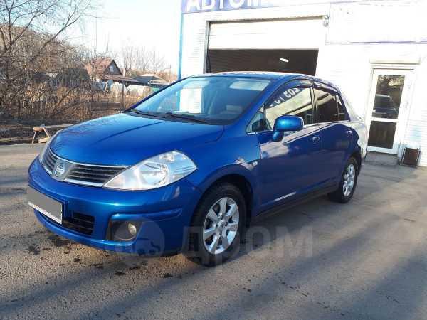 Nissan Tiida, 2007 год, 407 000 руб.