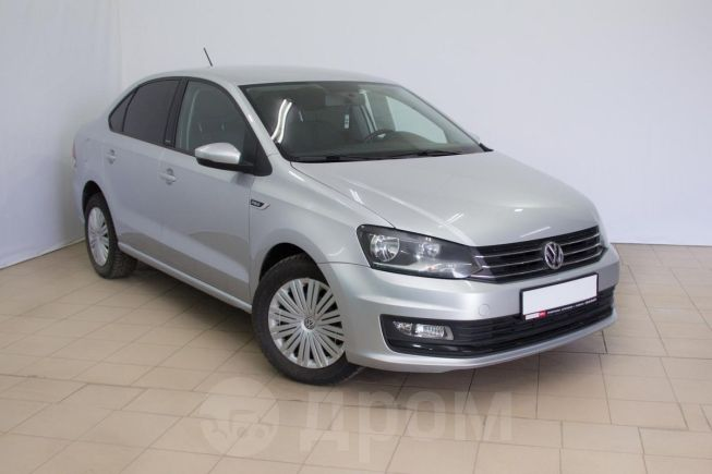 Volkswagen Polo, 2016 год, 639 990 руб.
