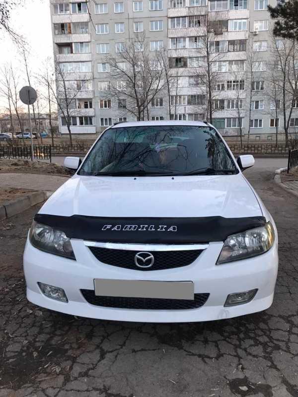 Mazda Familia S-Wagon, 2001 год, 205 000 руб.