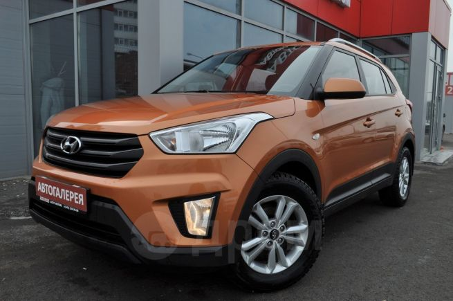 Hyundai Creta, 2016 год, 985 000 руб.