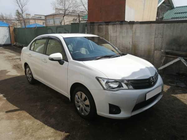 Toyota Corolla Axio, 2013 год, 598 000 руб.