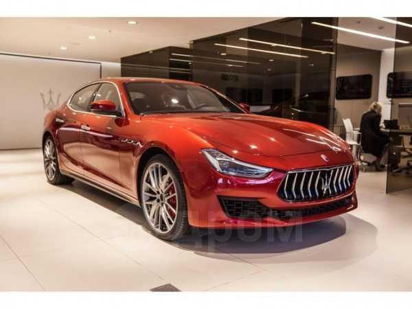 Maserati Ghibli, 2018 год, 9 448 625 руб.