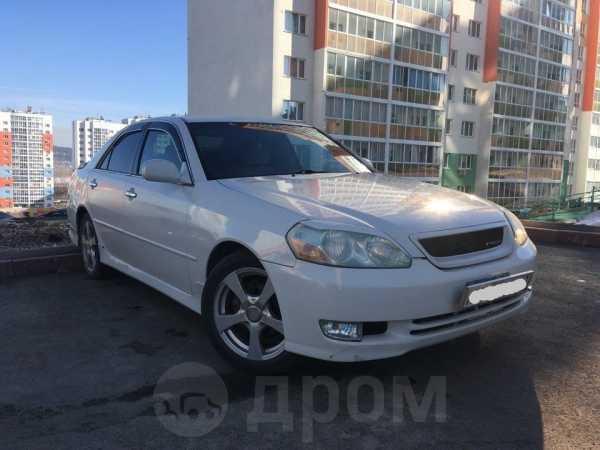 Toyota Mark II, 2002 год, 410 000 руб.