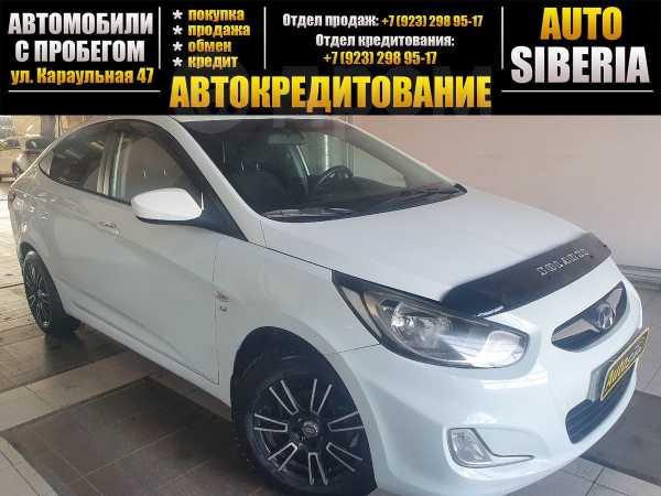 Hyundai Solaris, 2012 год, 497 000 руб.