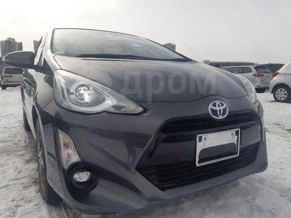 Toyota Aqua, 2015 год, 660 000 руб.
