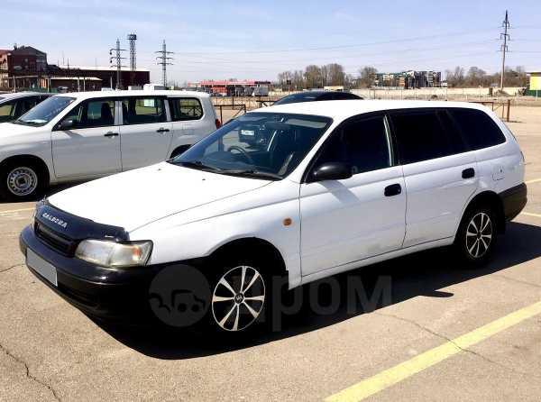 Toyota Caldina, 2002 год, 222 000 руб.