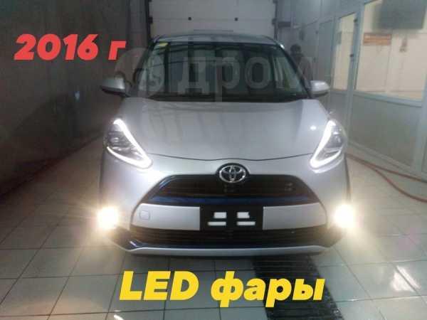 Toyota Sienta, 2016 год, 822 222 руб.