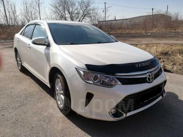 Toyota Camry, 2017 год, 1 235 000 руб.