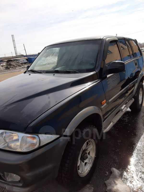SsangYong Musso, 2001 год, 290 000 руб.
