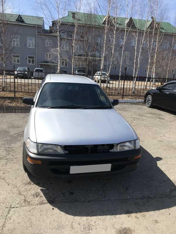 Toyota Corolla, 2002 год, 210 000 руб.