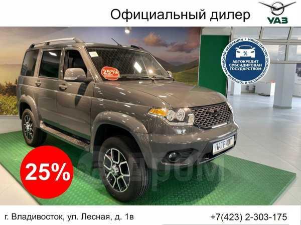 УАЗ Патриот, 2019 год, 1 452 000 руб.