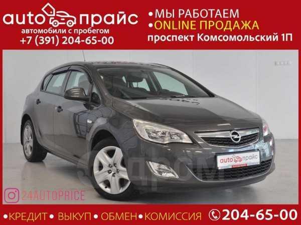 Opel Astra, 2012 год, 488 000 руб.