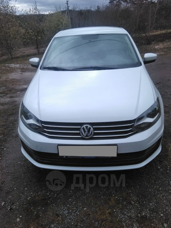 Volkswagen Polo, 2017 год, 588 000 руб.