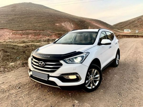 Hyundai Santa Fe, 2017 год, 1 630 000 руб.