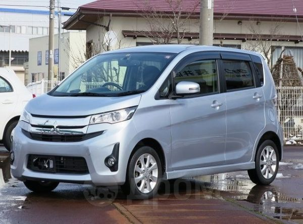 Mitsubishi ek Custom, 2016 год, 420 000 руб.