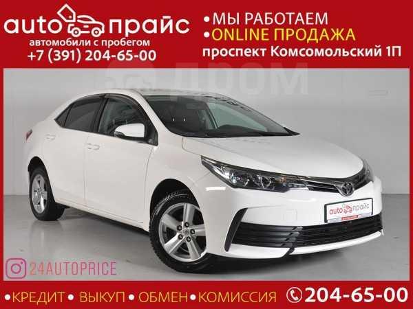 Toyota Corolla, 2016 год, 879 000 руб.